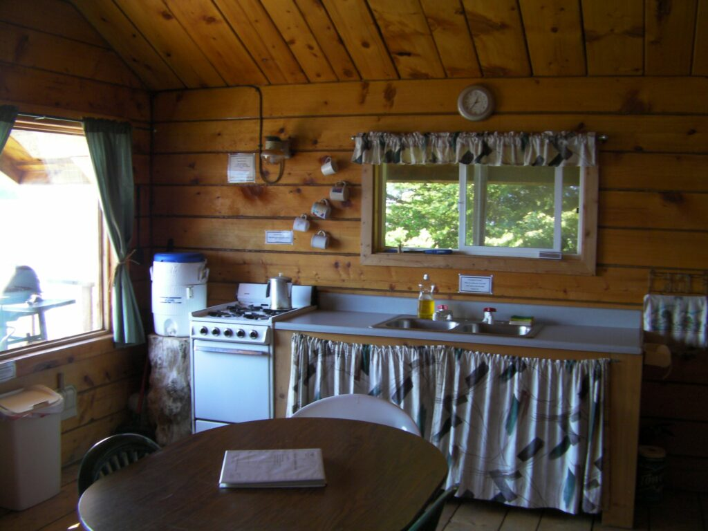 Hesketh Cabin Kitchen